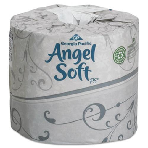 Georgia Pacific Professional Angel Soft ps Premium Bathroom Tissue  Septic Safe  2-Ply  White  450 Sheets Roll  40 Rolls Carton (GPC16840)