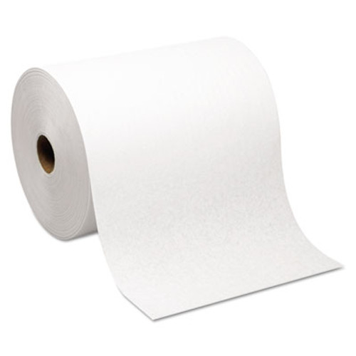 Georgia Pacific Professional Hardwound Roll Paper Towel  Nonperforated  7 87 x 1000ft  White  6 Rolls Carton (GPC 264-70)