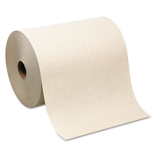 Georgia Pacific Professional Hardwound Roll Paper Towel  Nonperforated  7 87 x 1000ft  Brown  6 Rolls Carton (GPC 264-80)