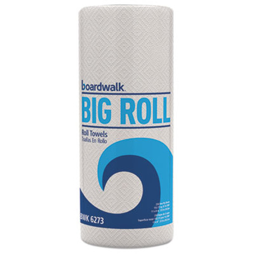 Boardwalk Household Perforated Paper Towel Rolls  2-Ply  11 x 8 5  White  250 Roll  12 Rolls Carton (BWK 6273)