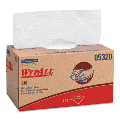 WypAll* X70 Wipers, Quarterfold, 12 1/2 x 23 1/2, White, 300/Box (KCC 05925)