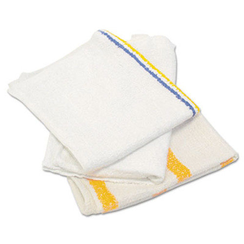 HOSPECO Value Counter Cloth Bar Mop  White  25 Pounds Bag (HOS 534-25BP)