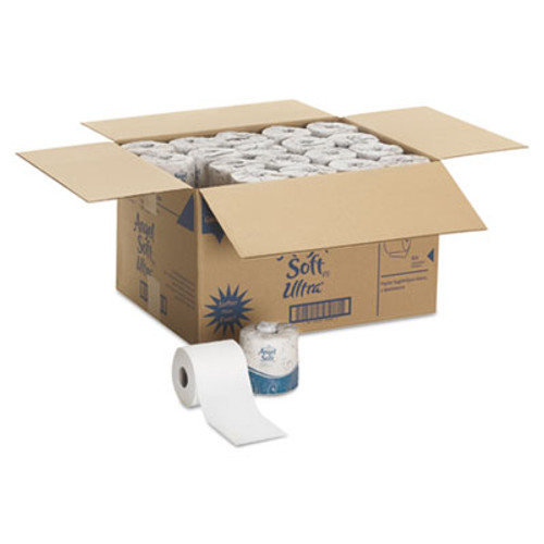 Georgia Pacific Professional Angel Soft ps Ultra 2-Ply Premium Bathroom Tissue  Septic Safe  White  400 Sheets Roll  60 Carton (GPC 165-60)