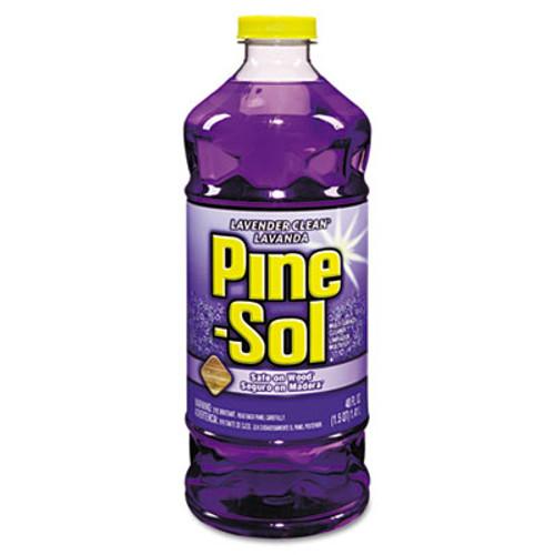 Pine-Sol Multi-Surface Cleaner  Lavender  48oz Bottle  8 Carton (CLO 40272)