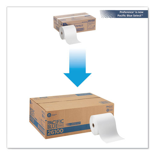 Georgia Pacific Professional Pacific Blue Basic  Nonperf Paper Towels  7  7 8 x 1000 ft  White  6 Rolls CT (GPC 261-00)
