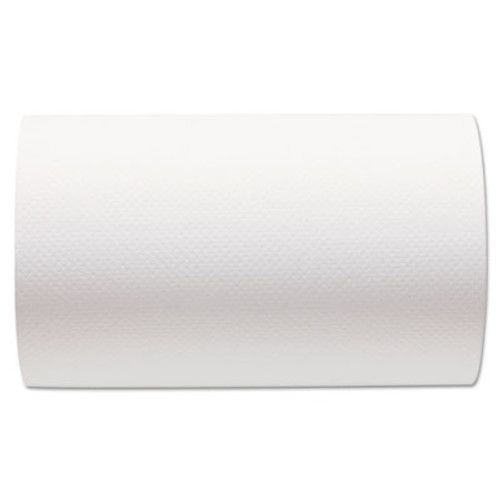 Georgia Pacific Professional Hardwound Paper Towel Roll  Nonperforated  9 x 400ft  White  6 Rolls Carton (GPC 266-10)