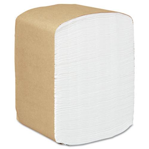Scott Full Fold Dispenser Napkins  1-Ply  13 x 12  White  375 Pack  16 Packs Carton (KCC 98740)