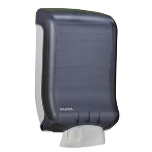 San Jamar Ultrafold Multifold C-Fold Towel Dispenser  Classic  Black  11 3 4 x 6 1 4 x 18 (SAN T1700TBK)
