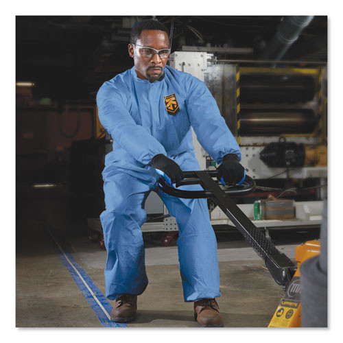 KleenGuard A60 Elastic-Cuff  Ankle   Back Coveralls  Blue  2X-Large  24 Case (KCC 45005)