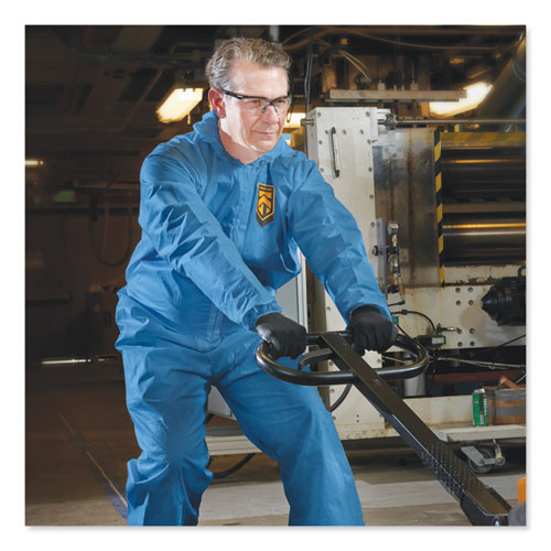 KleenGuard A60 Blood and Chemical Splash Protection Coveralls  X-Large  Blue  24 Carton (KCC 45094)