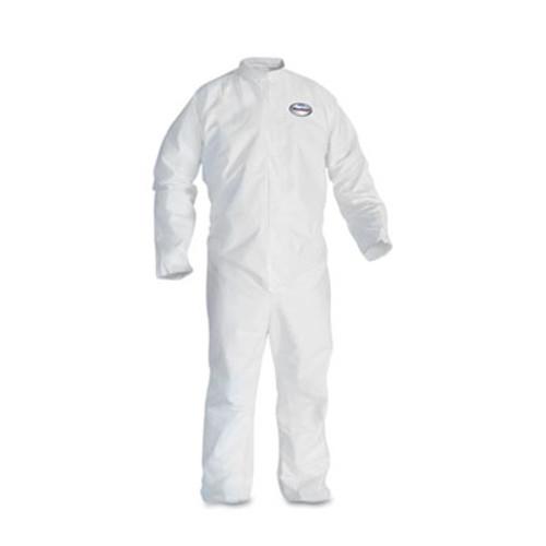 KleenGuard* A30 Elastic-Back Coveralls, White, 2X-Large, 25/Case (KCC 46005)