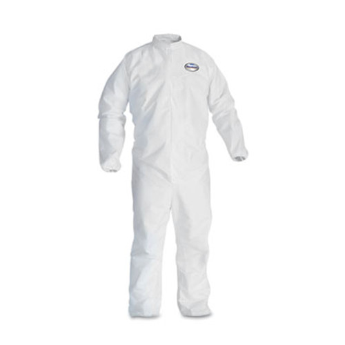 KleenGuard* A30 Elastic-Back & Cuff Coveralls, White, 2X-Large, 25/Case (KCC 46105)