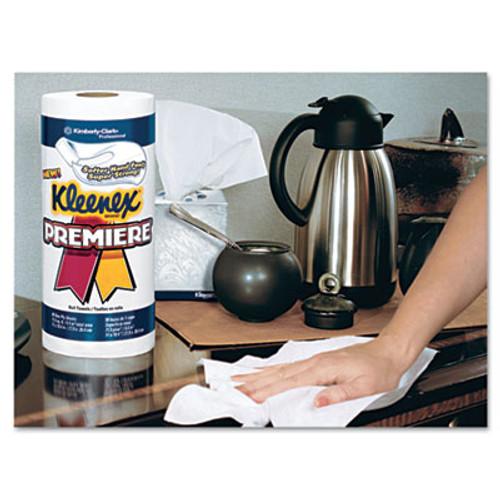 Kleenex Premiere Kitchen Roll Towels  White  70 Roll  24 Rolls Carton (KCC 13964)