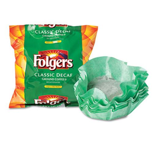 Folgers Coffee Filter Packs  Decaffeinated Classic Roast  9 10oz  40 Carton (SMU 06122)