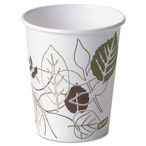 Dixie Pathways Paper Hot Cups, 10 oz., 50/Pack (DIX 2340PATH)