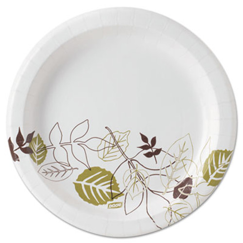 "Dixie Pathways Soak-Proof Shield Mediumweight Paper Plates, 8 1/2"", Pathway, 125/Pack (DIX UX9PATH)"