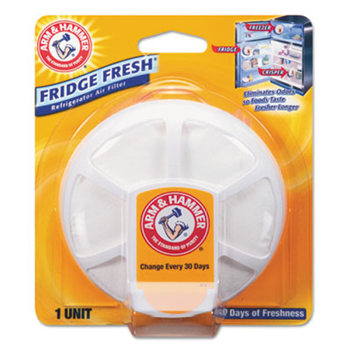 Arm & Hammer Fridge Fresh Baking Soda, Unscented, 8/Carton (CDC 33200-01710)