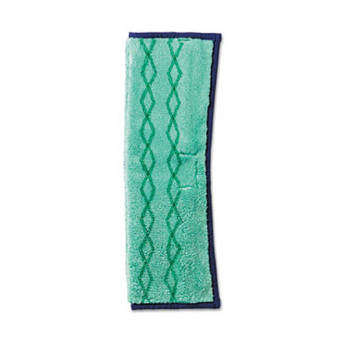 Rubbermaid Commercial HYGEN HYGEN Microfiber Dust and Wet Mop Plus  Green Blue (RCP 1791679)