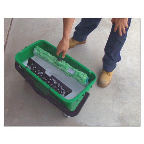 Unger Pro Bucket  6gal  Plastic  Green (UNG QB220)