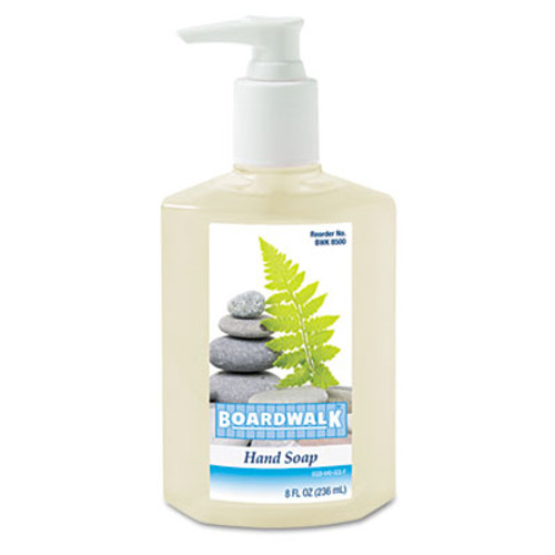 Boardwalk Liquid Hand Soap  Floral  8 oz Pump Bottle (BWK 8500)
