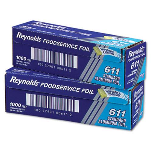 Reynolds Wrap Standard Aluminum Foil Roll  12  x 1000 ft  Silver (REY 611)