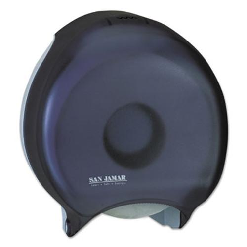 San Jamar Single 12  JBT Bath Tissue Dispenser  1 Roll  12 9 10x5 5 8x14 7 8  Black Pearl (SAN R6000TBK)