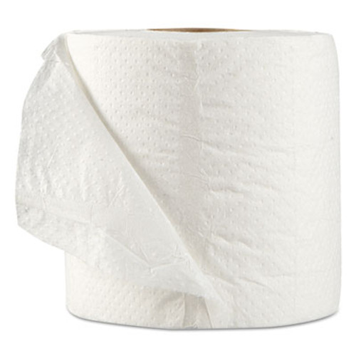 GEN Standard Bath Tissue  Septic Safe  1-Ply  White  1 000 Sheets Roll  96 Wrapped Rolls Carton (GEN 218)