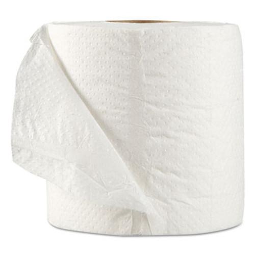 GEN Standard Bath Tissue  Septic Safe  1-Ply  White  1 000 Sheets Roll  96 Wrapped Rolls Carton (GEN 218)