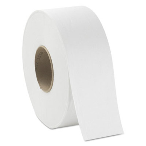 GEN JRT Jumbo Bath Tissue  Septic Safe  2-Ply  White  3 38  x 1 000 ft  12 Carton (GEN 1931)
