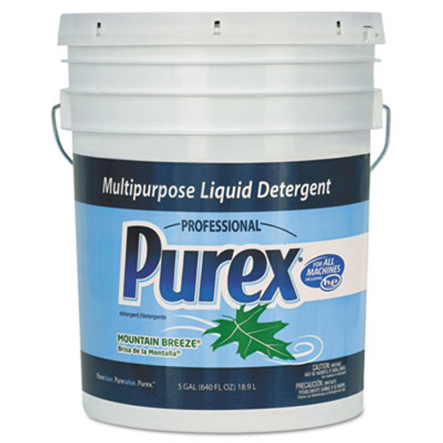 Purex Concentrate Liquid Laundry Detergent, Mountain Breeze, 5 gal. Pail (DIA 06354)