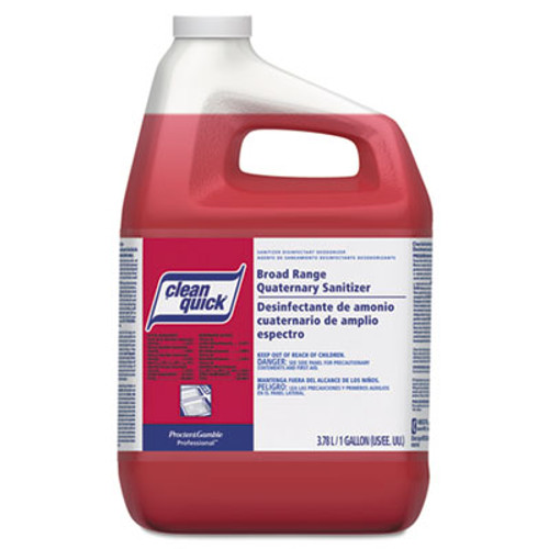 Clean Quick Broad Range Quaternary Sanitizer  Sweet Scent  1 gal Bottle  3 Carton (PGC 07535)