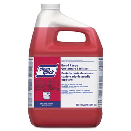 Clean Quick Broad Range Quaternary Sanitizer  Sweet Scent  1 gal Bottle  3 Carton (PGC 07535)