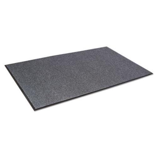 Crown Needle Rib Wipe and Scrape Mat  Polypropylene  36 x 120  Gray (CRO NR310 CHA)