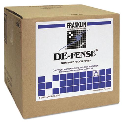 Franklin Cleaning Technology DE-FENSE Non-Buff Floor Finish  Liquid  5 gal  Box (FRK F135025)