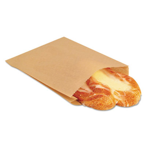 Bagcraft EcoCraft Grease-Resistant Sandwich Bags  6 5  x 8   Natural  2 000 Carton (BGC 300100)