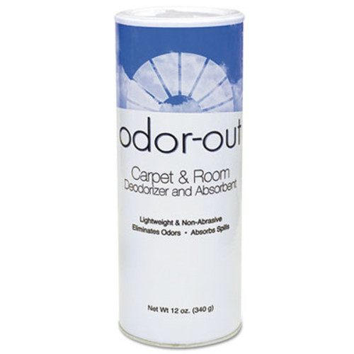 Fresh Products Odor-Out Rug Room Deodorant  Lemon  12 oz Shaker Can  12 Box (FRS 12-14-00LE)