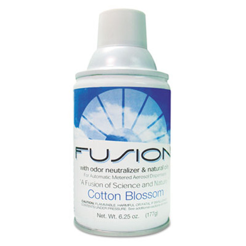 Fresh Products Fusion Metered Aerosols, Cotton Blossom, 6.25oz, Aerosol, 12/Carton (FRS MA12BL)