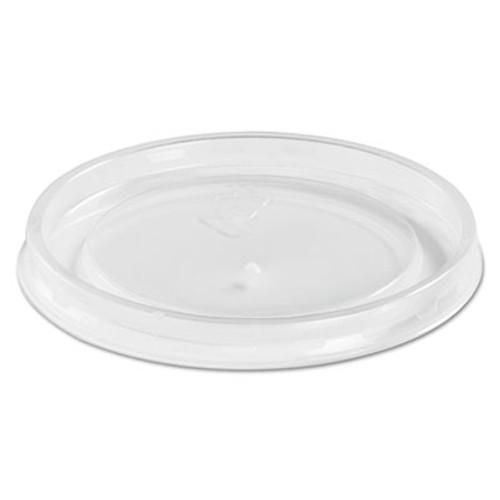 Chinet High Heat Vented Plastic Lids  Fits All Sizes  6-16 oz  Translucent  50 Bag (HUH 89107)