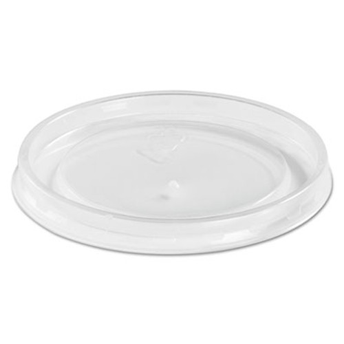 Chinet High Heat Vented Plastic Lids  Fits All Sizes  6-16 oz  Translucent  50 Bag (HUH 89107)