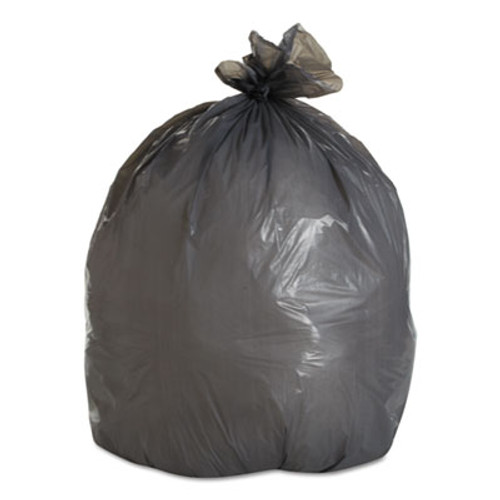 Boardwalk LD Can Liners, 20-30gal, .95mil, 30w x 36h, Gray, 25 Bags/Roll, 4 Rolls/CT (BWK 3036SH)