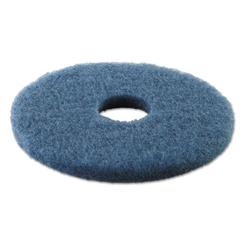 Boardwalk Scrubbing Floor Pads  13  Diameter  Blue  5 Carton (PAD 4013 BLU)