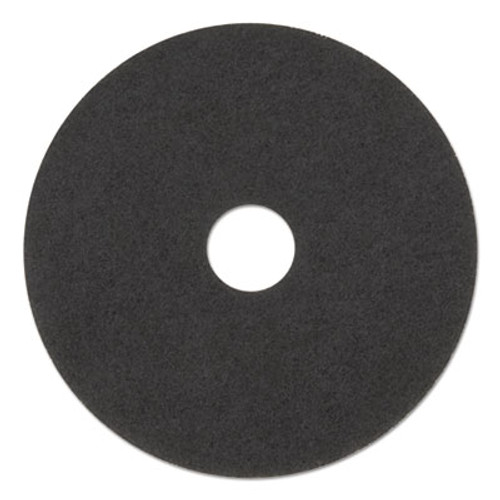 Boardwalk Stripping Floor Pads  15  Diameter  Black  5 Carton (PAD 4015 BLA)