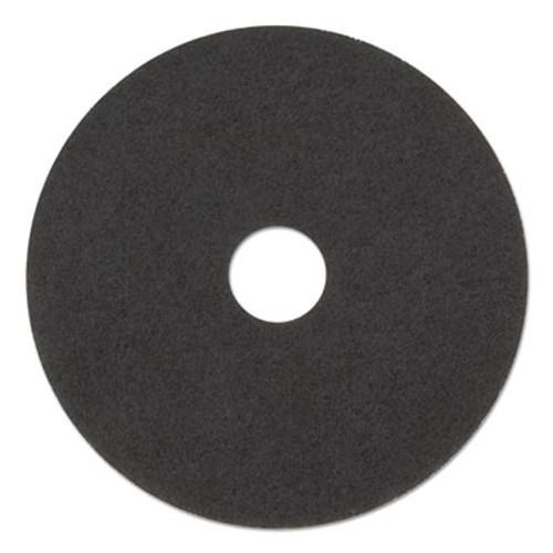 Boardwalk Stripping Floor Pads  15  Diameter  Black  5 Carton (PAD 4015 BLA)