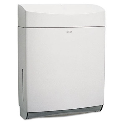 Bobrick Matrix Series Surface-Mounted Paper Towel Dispenser  ABS Plastic  Gray (BOB 5262)