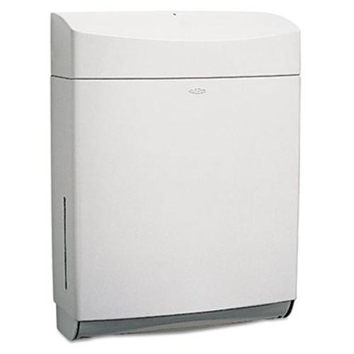 Bobrick Matrix Series Surface-Mounted Paper Towel Dispenser  ABS Plastic  Gray (BOB 5262)