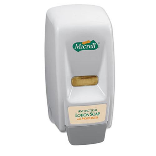 GOJO 800 Series Dispenser, 5 x 4.5 x 11, Wall Mountable, Dove Gray (GOJ 9721)
