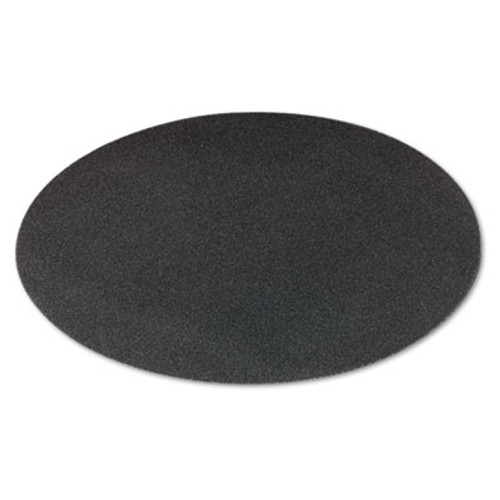 Boardwalk Sanding Screens  17  Diameter  60 Grit  Black  10 Carton (PAD 5017-60-10)