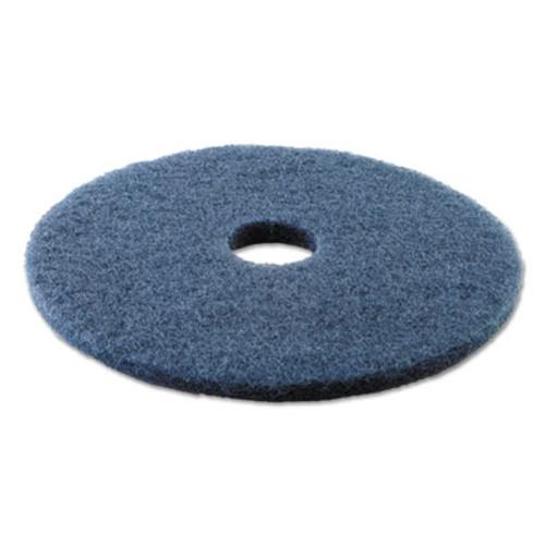 Boardwalk Scrubbing Floor Pads  17  Diameter  Blue  5 Carton (PAD 4017 BLU)