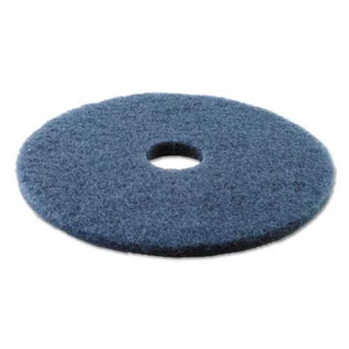 Boardwalk Scrubbing Floor Pads  17  Diameter  Blue  5 Carton (PAD 4017 BLU)