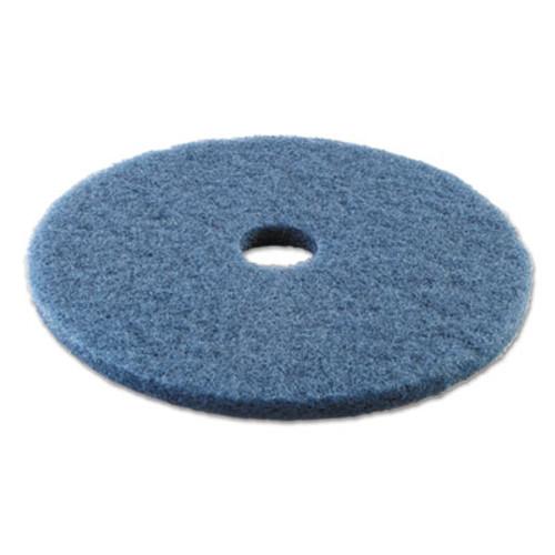 Boardwalk Scrubbing Floor Pads  20  Diameter  Blue  5 Carton (PAD 4020 BLU)